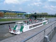Port d'embarquement du Parc de la Villette