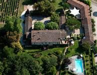 Château Touny les Roses - vue aérienne