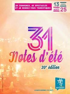 Festival 31 Notes d'été
