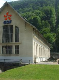 Visite de la centrale Hydroélectrique EDF