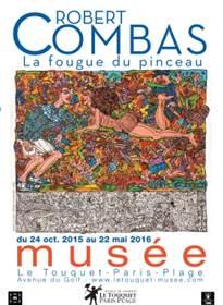 """Exposition """"Robert Combas : la fougue du pinceau"""""""