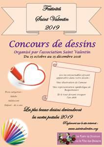 Fête de la Saint Valentin-Concours de dessins