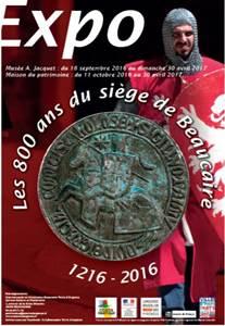 Les 800 ans du Siège de Beaucaire 1216-2016 - Exposition
