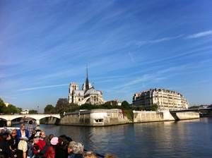 """Croisière """"Histoire de Paris"""" au fil de la Seine : Vendredi 25 mars"""