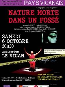 Théâtre : Nature morte dans un fossé