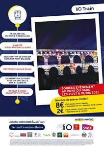 TER + Soirée évènement au Pont du Gard