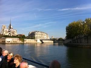Départ 15h30 : Croisière sur la Seine