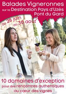 Balades vigneronnes au Domaine de la Valériane