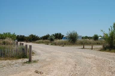 Aire camping car La Franqui