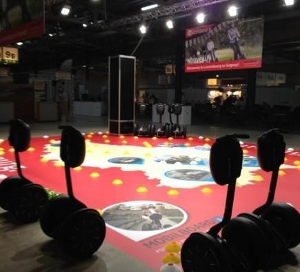 Circuit Segway avec Mobilboard Luxembourg !