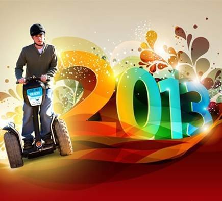 Mobilboard vous souhaite une Bonne Année 2013 !