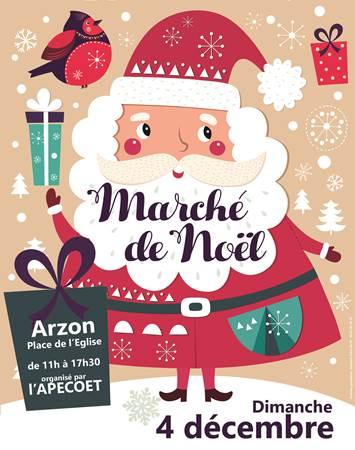 Marché de Noël Arzon