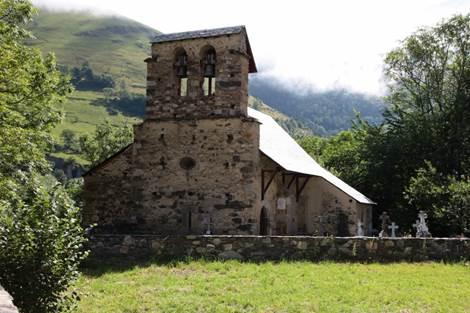 Eglise de Benqué Face
