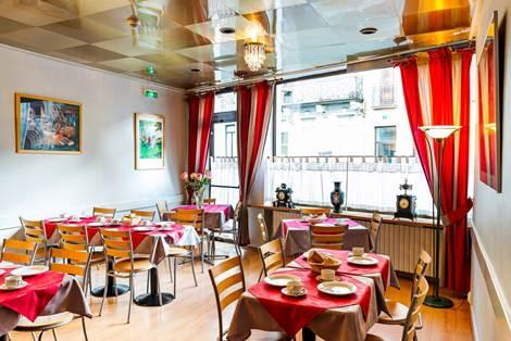 Salle petit-déjeuner Hôtel Panoramic