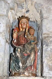 Eglise de Bernet Statuette