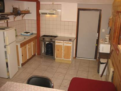 Kitchenette chalet