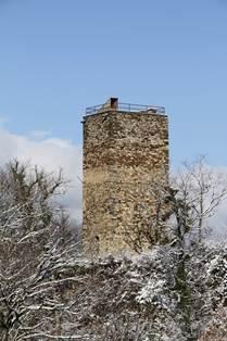 Tour de Castel Vielh Hiver