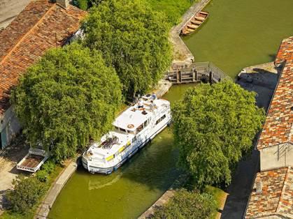 Ecluse de Négra - Canal du Midi