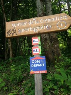 Panneaux Station de Trail Luchon