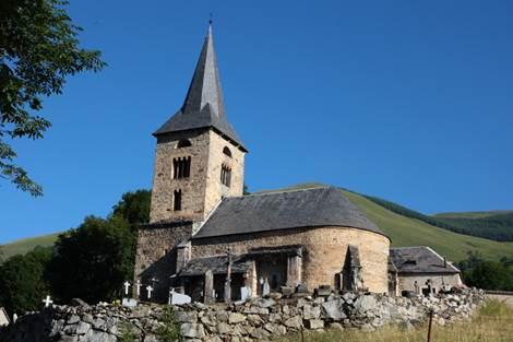 Eglise de Cazeaux Extérieur