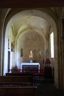 Eglise de Cazaril Intérieur
