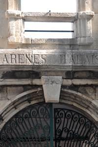 Les arènes d'Alès