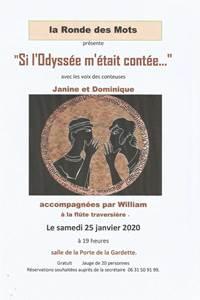 """Contes """"Si l'Odyssée m'était contée"""""""