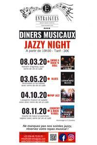 Dîners musicaux, jazzy night