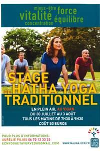 Stage de Hatha Yoga Traditionnel