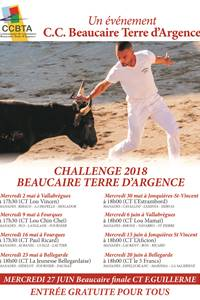 """Course Camarguaise """"Challenge Beaucaire Terre d'Argence"""" Bellegarde"""