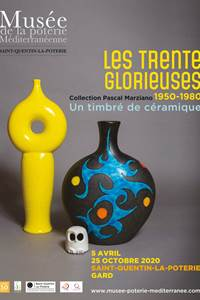 Exposition Les trente glorieuses - Un timbré de céramique - Collection Pascal Marziano