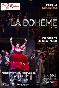 La Bohème - Retransmission Metropolitan Opéra