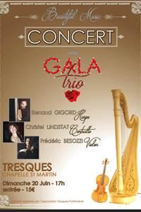 Concert : Gala Trio