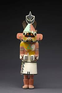 1 heure - 1 oeuvre :  Des poupées kachina amérindiennes