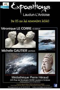 Exposition Véronique Le Corre et Michelle Gautier