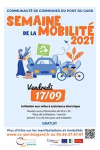 Semaine Européenne de la Mobilité Durable - Initiation aux vélos électriques