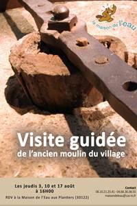 Visite guidée de l'ancien moulin du village!