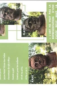 Exposition Sculptures Gérard Labbé au Jardin des Oules