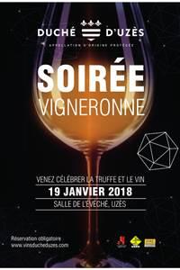 Soirée Vigneronne Vins Duché d'Uzès