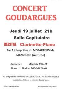 Concert à Goudargues