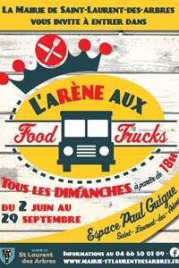 L'arène aux Food trucks