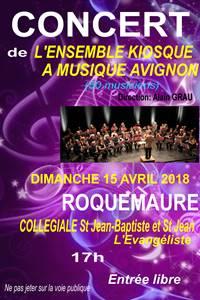 Concert de l'ensemble Kiosque à Musique Avignon
