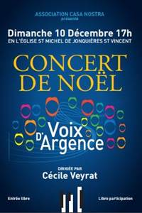 Concert de Noël à Jonquières St Vincent