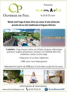 Week-End bien-être à Aigues-Mortes