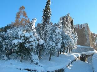 FORT SAINT-ELME - The Fort in Winter