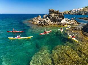 Kayak excursion with Aléoutes!
