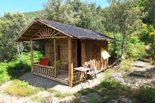 Cabane en Bambou de Lascoutch