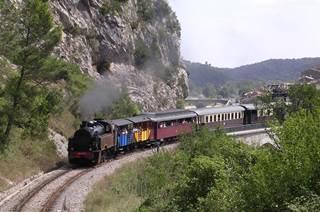 Le Train à Vapeur des Cévennes