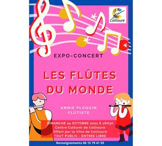 """Expo concert """"the flutes of the world"""""""