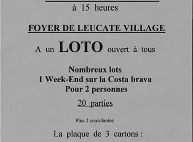 Loto de l'Association Françoise de Cézelly
